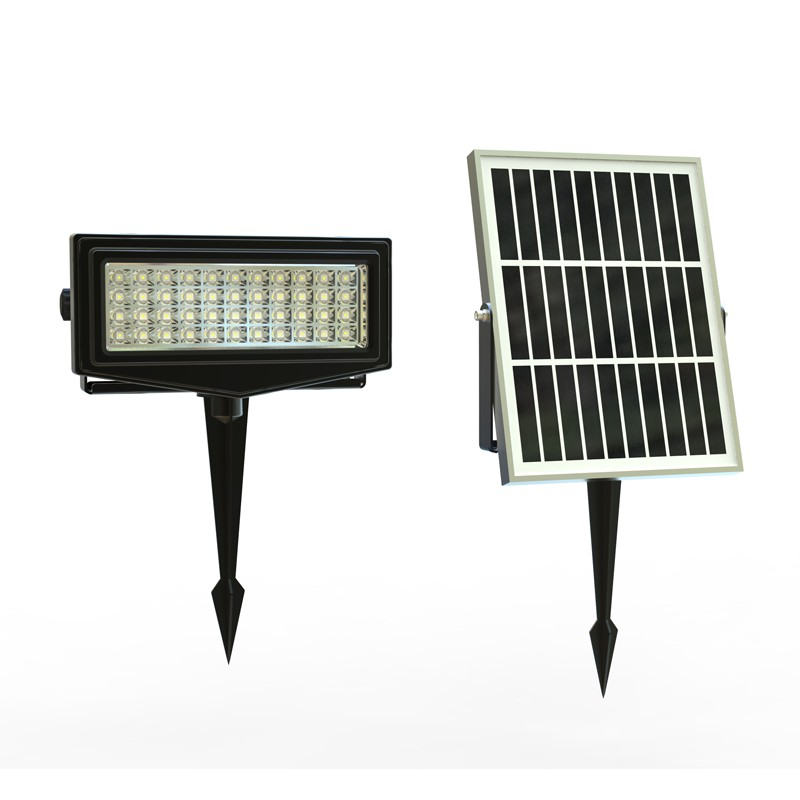 L\'VORO Smart Solar LED Garden RGB Light