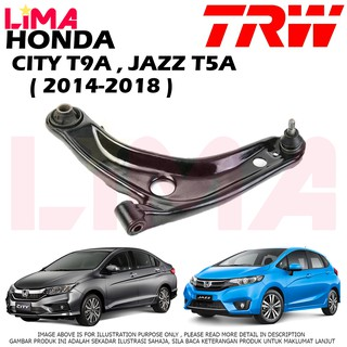 Fits Honda Integra DC2 1.8 Type-R TRW Rear Axle Left Upper Track Control Arm
