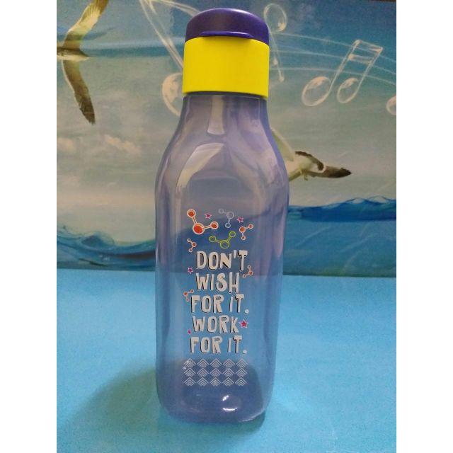 Y.E.S Tupperware water bottle 1 liter eco positive