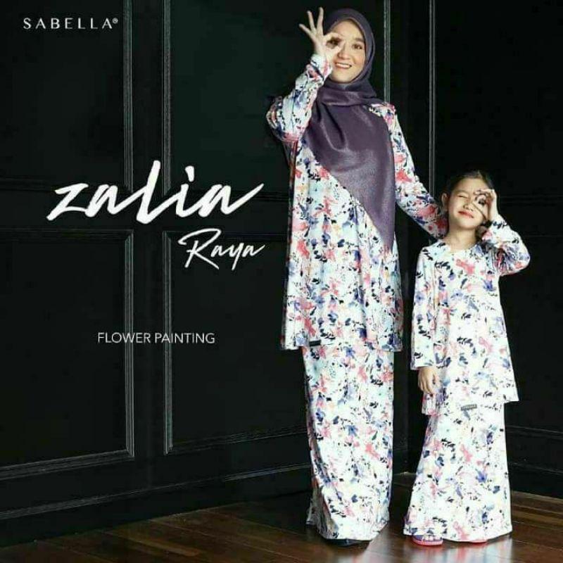 Sabella  Zalia Kurung Size S [Ready stock] Last set