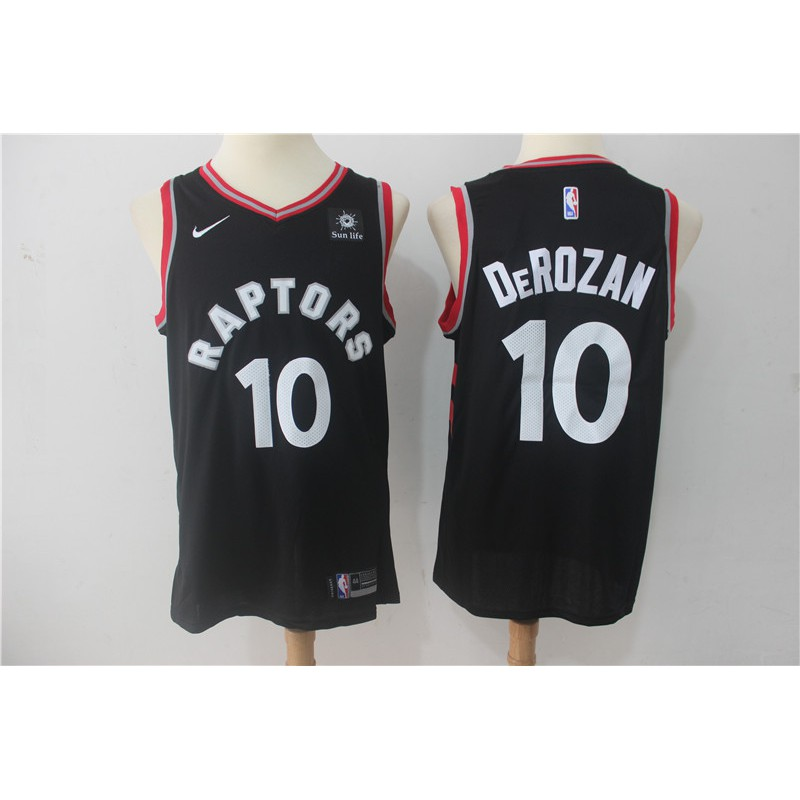 superior quality 11953 22f28 【HOT~champion】ready stock NBA Popular Team: Toronto Raptors Basketball  jersey #10 Black Fan Edition