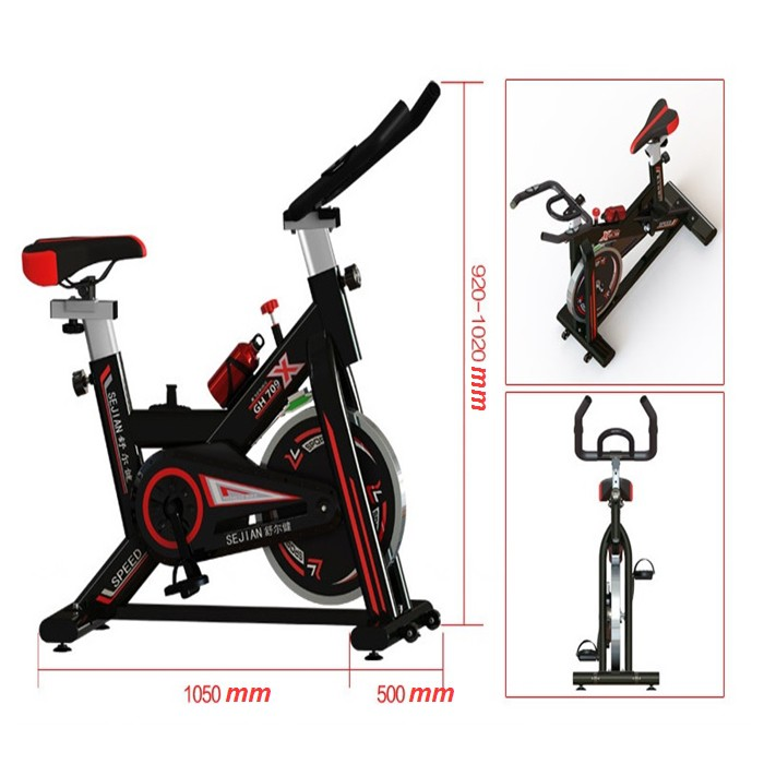 🔥M'SIA STOCK] Exercise Cycle Bike Support Weight up 150 kg-Alat Senaman Basikal