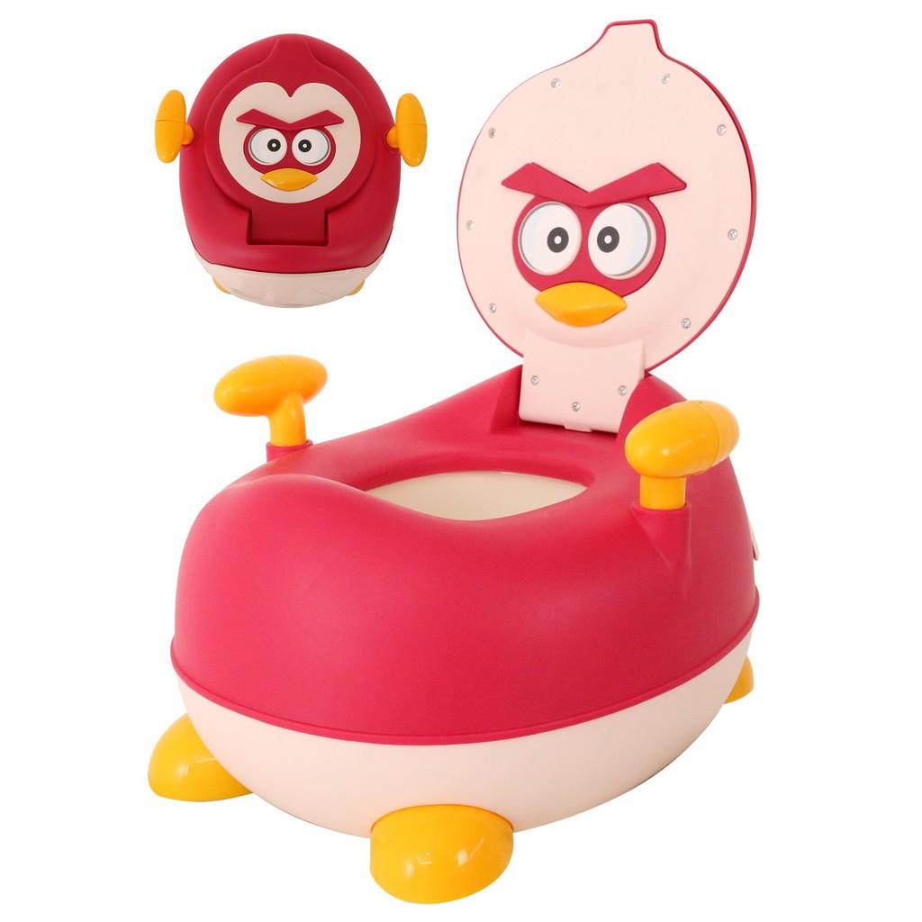 Children Red Bird Potty Chair Kids Toilet Training Seat (BAY0110MR)