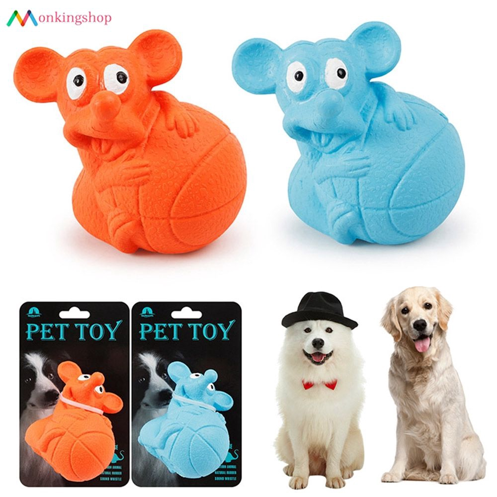 For Dog Toy Play Funny Pet Puppy Chew Squeaker Squeaky Plush Sound Toys Durable