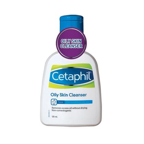 Cetaphil Oily Skin Cleanser 125ml for Sensitive Skin