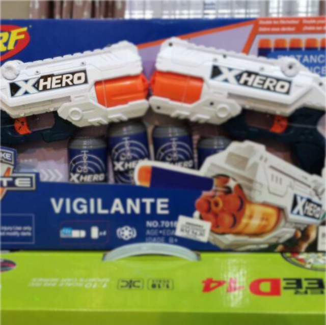 Nerf Gun Shot Birthday Gift for Kids Toys