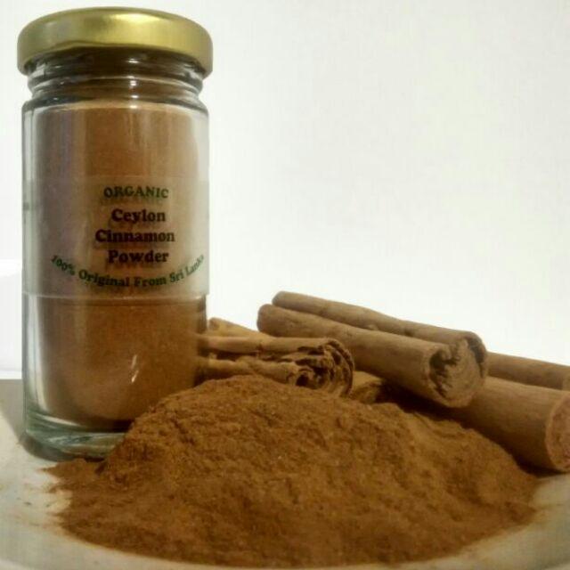 Organic Ceylon Cinnamon Powder 30g