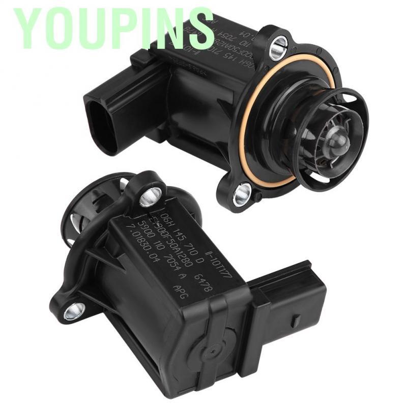 Acouto 06H145710D Turbo Turbocharger Cut-Off By-Pass Diverter Valve for Audi A4 VW Passat