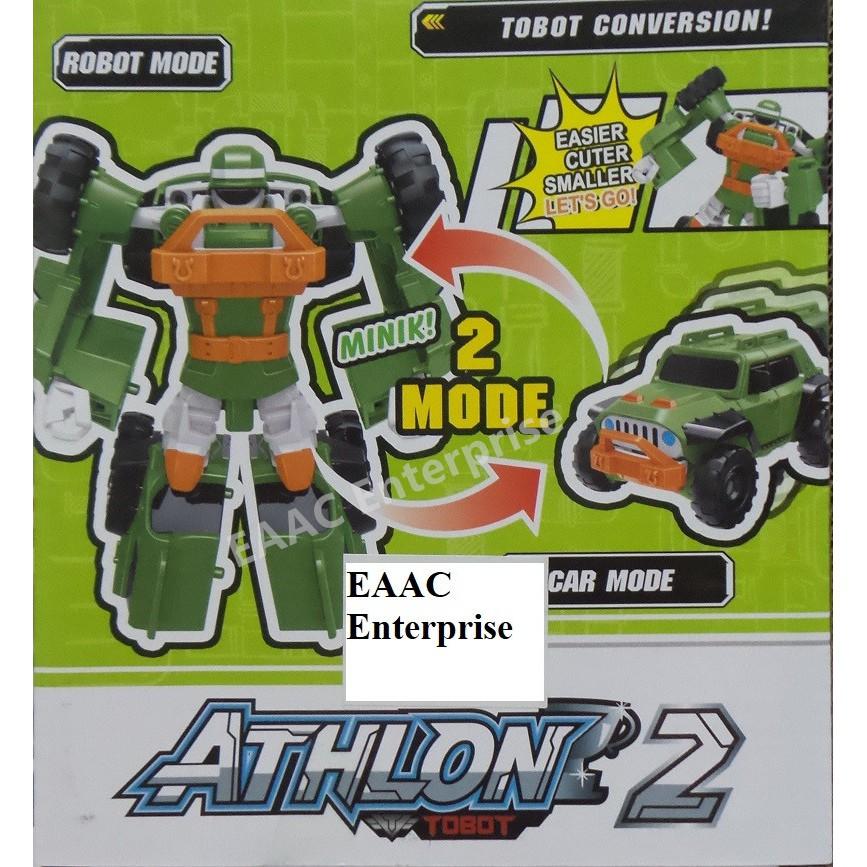 Tobot Athlon 2 Transformation Robot Car Transformer to Jeep