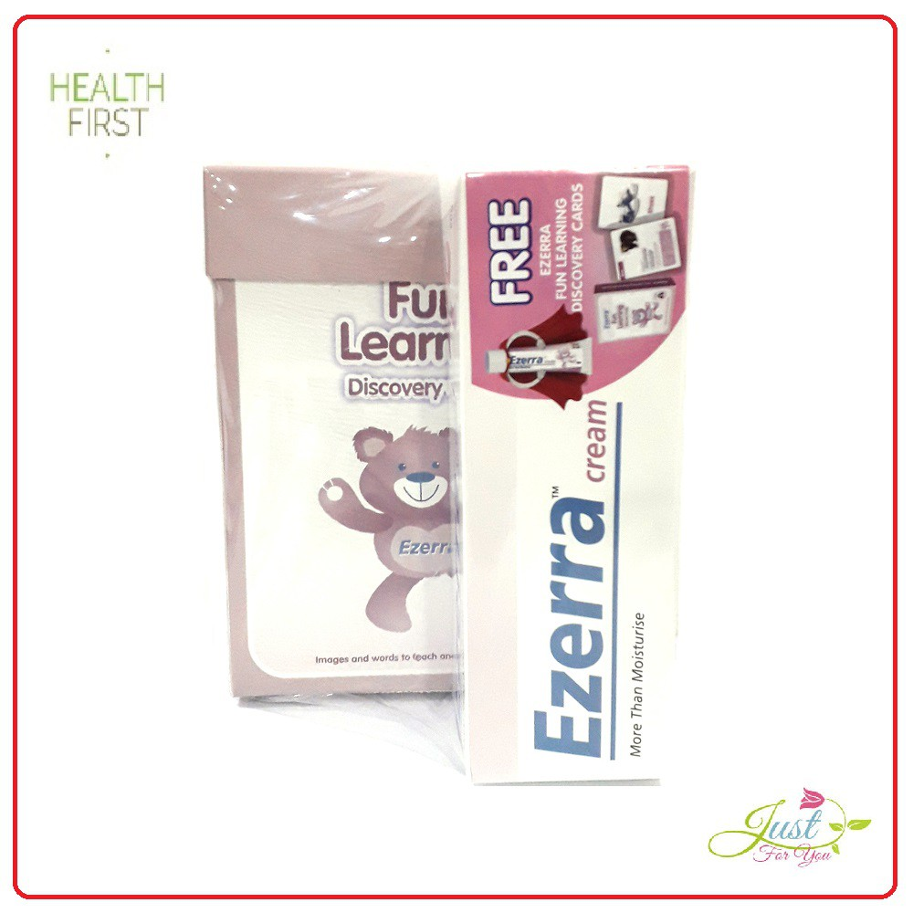 VALUE PACK!! Ezerra Cream (more than moisturise) 50g + Free Gift EXP DATE 3/2021