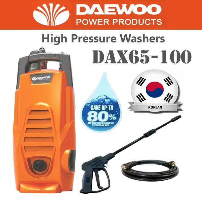 DAEWOO 1600W HIGH PRESSURE CLEANER DAX65-100