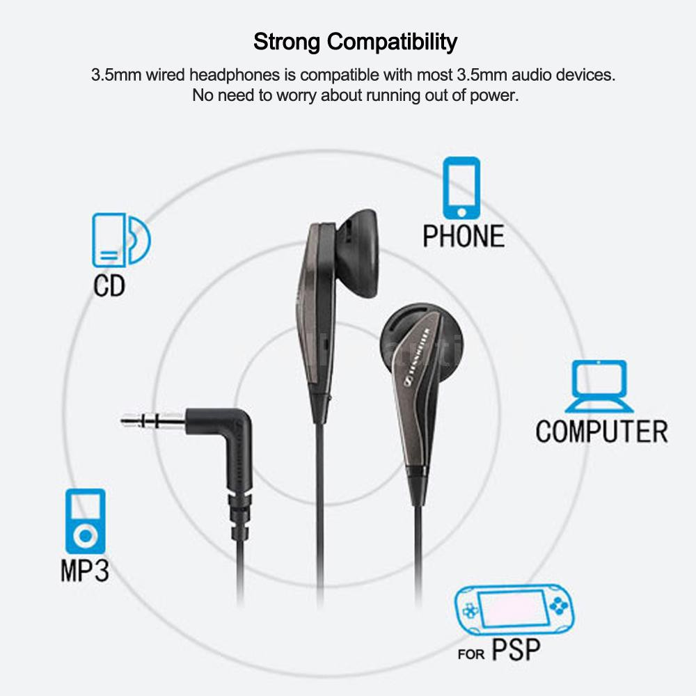 Spell♂Sennheiser MX375 Stereo Earbuds 3 5mm Wired