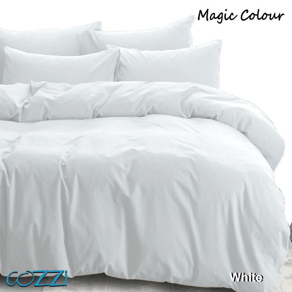 Cozzi Magic Colour Quilt Cover & Pillow Case Set King / Queen / Super Single (Bed sheet is not Included)