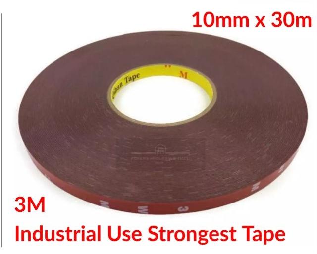 Adhesive Sticker Double Side Tape Car Home Phone Digitizer Repair 3M 10mm x 3meter
