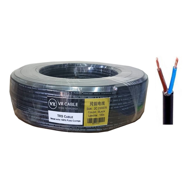 VX TRS Full Copper Outdoor Waterproof Cable 90m