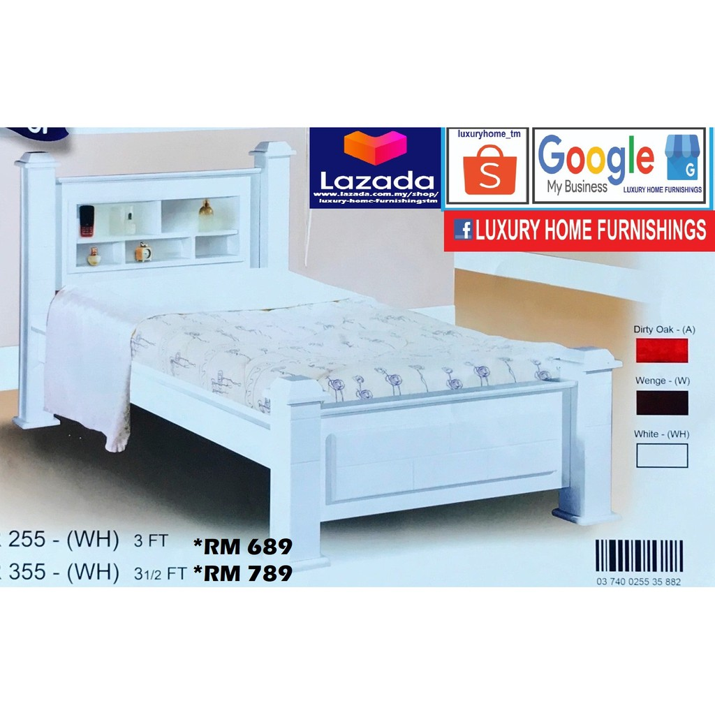 Single Bed, Solid Wood Series
