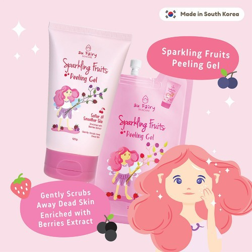 Au Fairy Sparkling Fruits Peeling Gel 20ml (Travel Pack) /120g