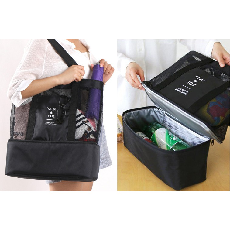 fdfa8de5d681 Thermal Lunch Bag Food Picnic Insulated Cooler Large Capacity Storage Bags