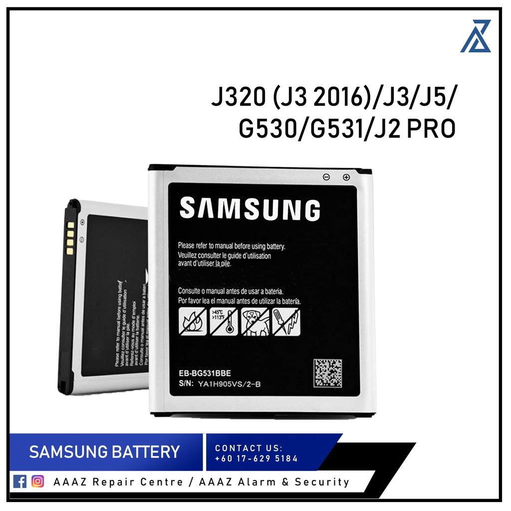 [AAAZ] BATTERY SAMSUNG J320 (J3 2016) / J3 / J5 / G530 / G531 / J2 PRO