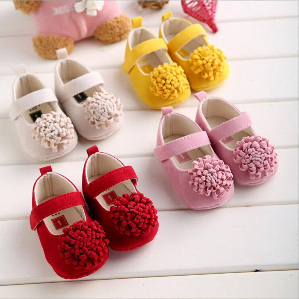 a27a8c4b19 Newborn Baby Girls Boys Mary Jane Shoes Toddler Cartoon Cute Print ...