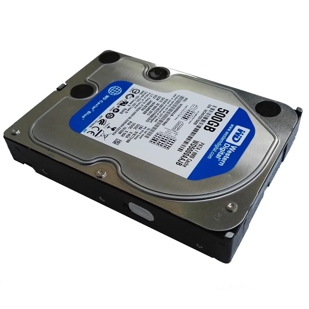 """Western Digital 500GB WD5000AAJB 7200RPM PATA IDE 3.5/"""" Desktop HDD Hard Drive"""