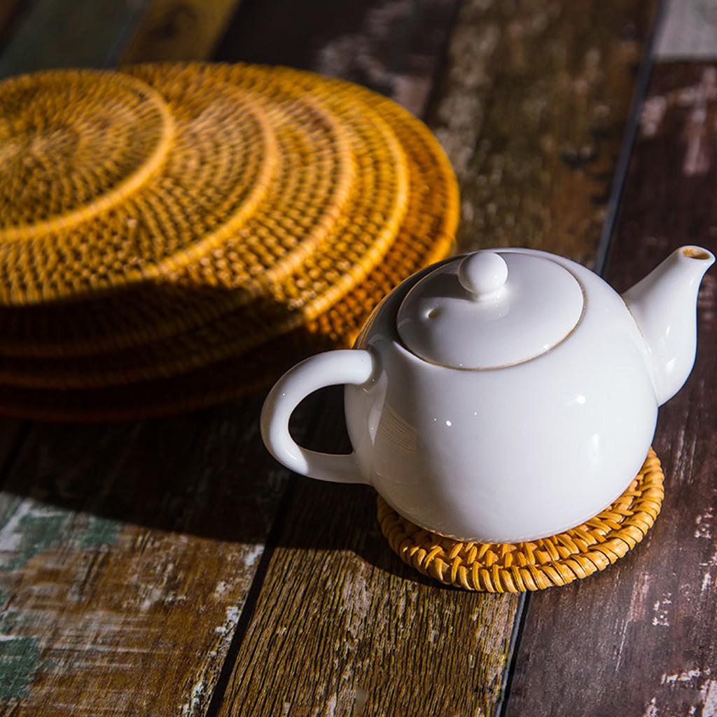 Chinese yixing zisha pot holder purple clay mat for tea pot drainage tea plate