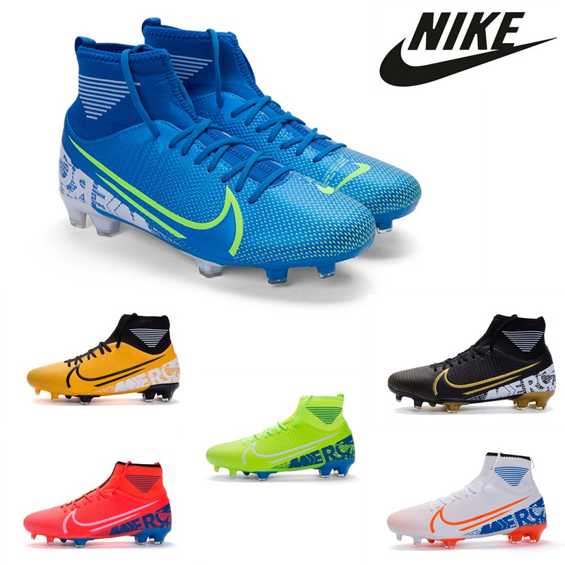 Obediente efecto Renacimiento  2019 Nike Mercurial Superfly VII FG Outdoor Men Soccer Shoes Messi Football  Shoes Kid Sport Shoes Soccer Boots | Shopee Malaysia