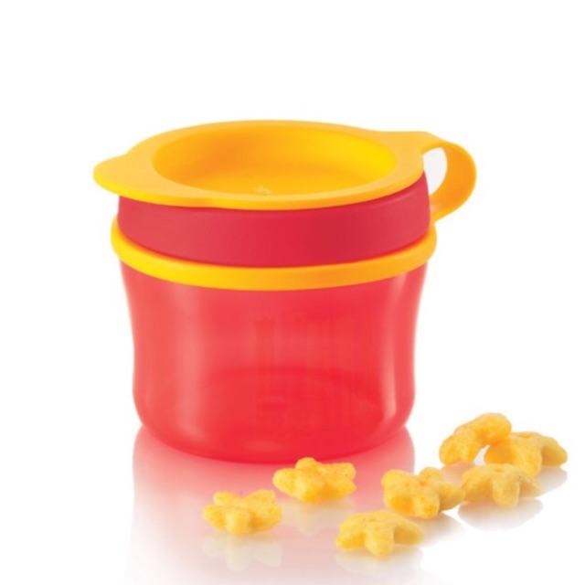 Tupperware Twinkle Snack Cup (1) 150ml - Red