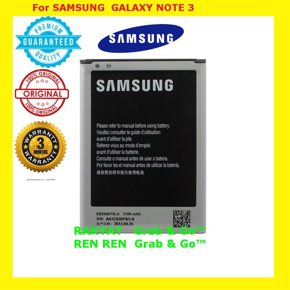 Original Samsung Note 3 Battery 2 Shopee Malaysia Baterai Galaxy 100