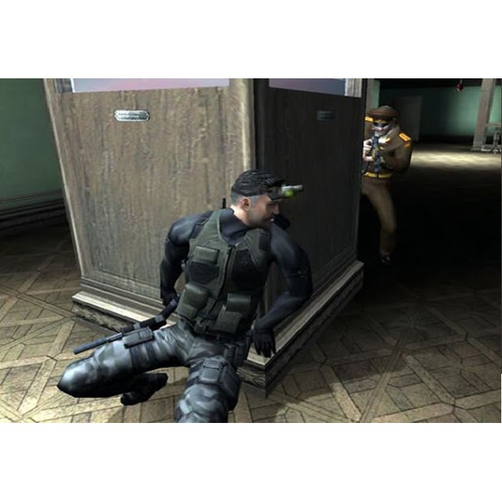 PS2 Game Tom Clancy Splinter Cell, Chaos Theory, Double Agent, Pandora Tomorrow, Shooter Game, English ver PlayStation 2