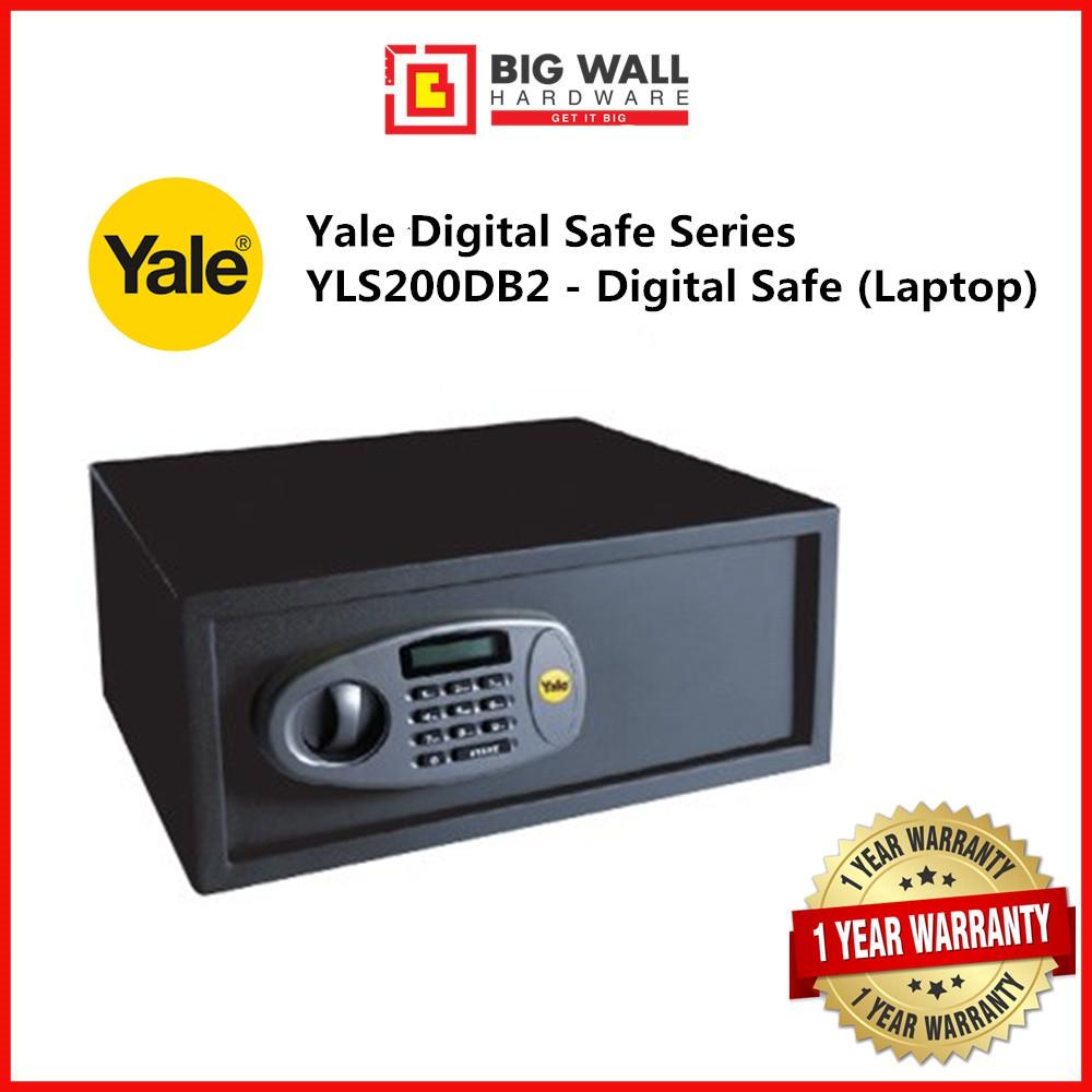 Yale Digital Safe Series YLS/200/DB2 - Standard Digital Safe (Laptop) Safety Box Peti keselamatan 保险箱