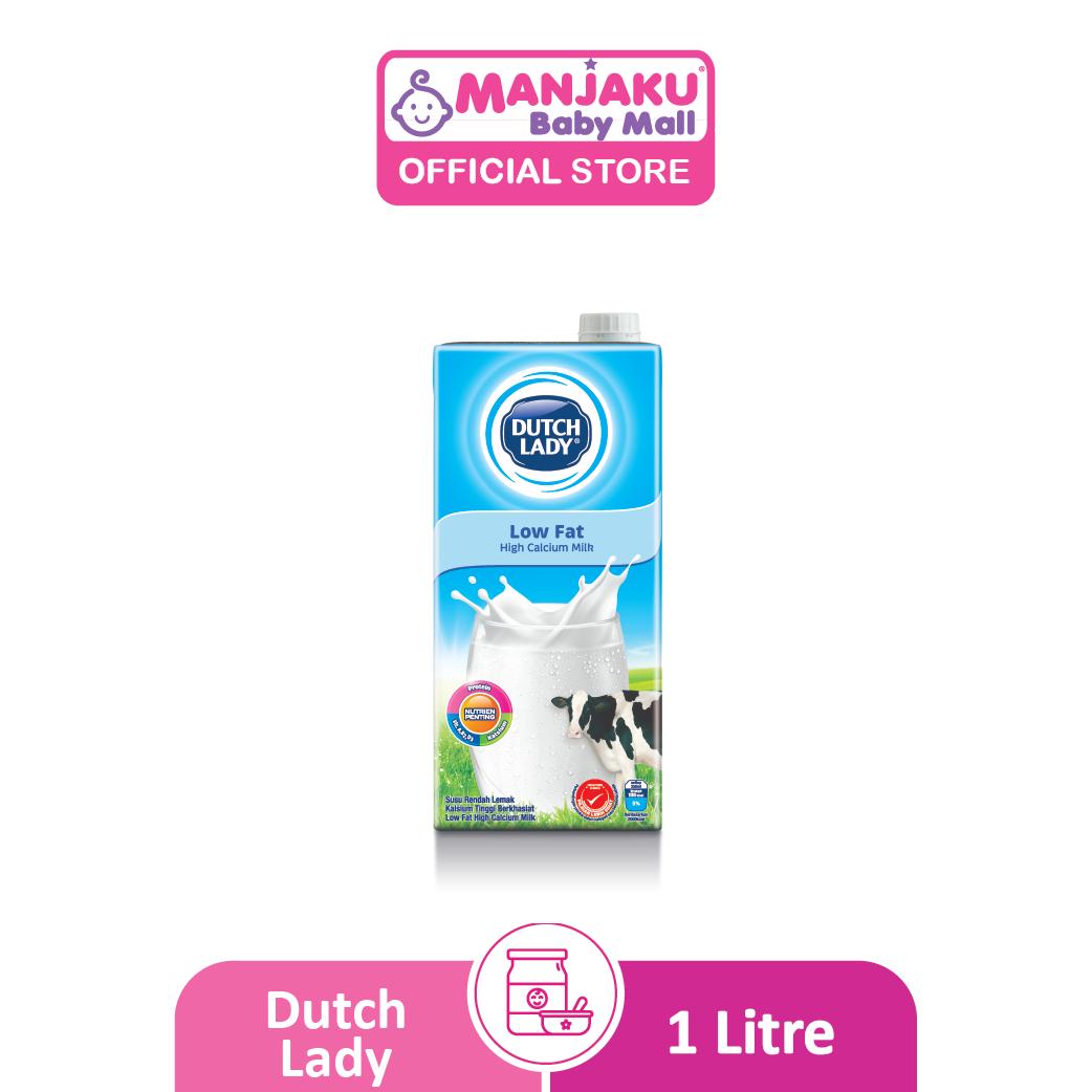 Dutch Lady UHT Milky Low Fat - 1L