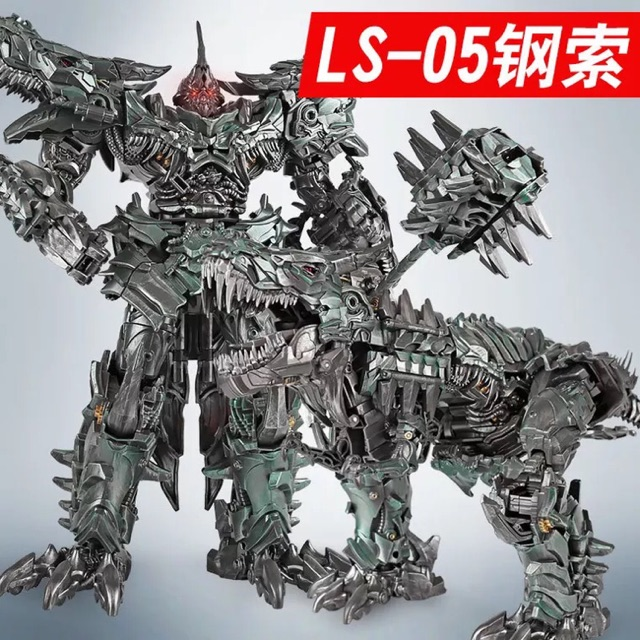 Black Mamba Transformers LS-05 Grimlock Steel Lock Ancient Lord SS Dinosaur