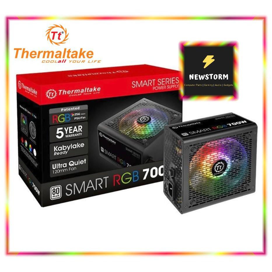 THERMALTAKE Power Supply SMART RGB 500W/600W/700W 80PLUS