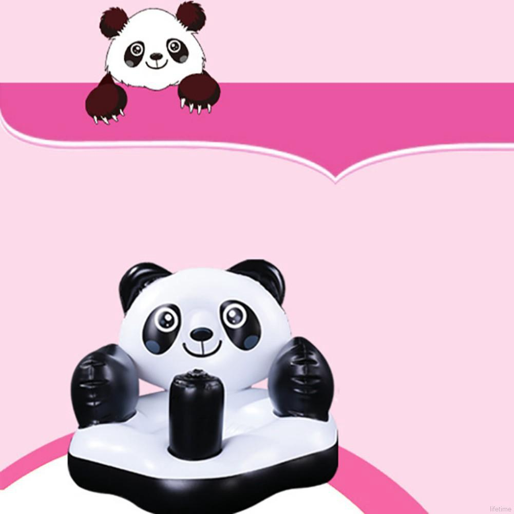 Sensational Kids Baby Seat Inflatable Panda Chair Sofa Bath Seats Dining Pushchair Gmtry Best Dining Table And Chair Ideas Images Gmtryco