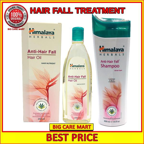 Himalaya Anti Hair Fall Hair Oil + Hair Fall Shampoo