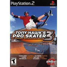 PS2  Tony Hawk's Pro Skater 3 / Pro Skater 4 / Underground [Burning Disk]