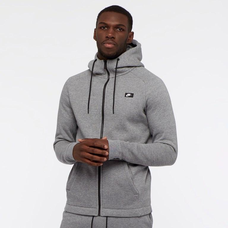 nike modern grey hoodie