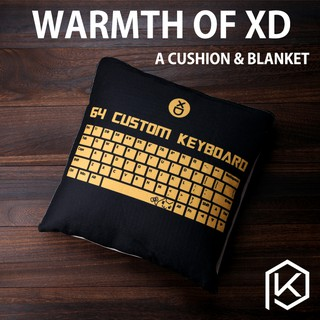 Morning Shy brother xiudi xd64's guest-made keyboard long-sleeved
