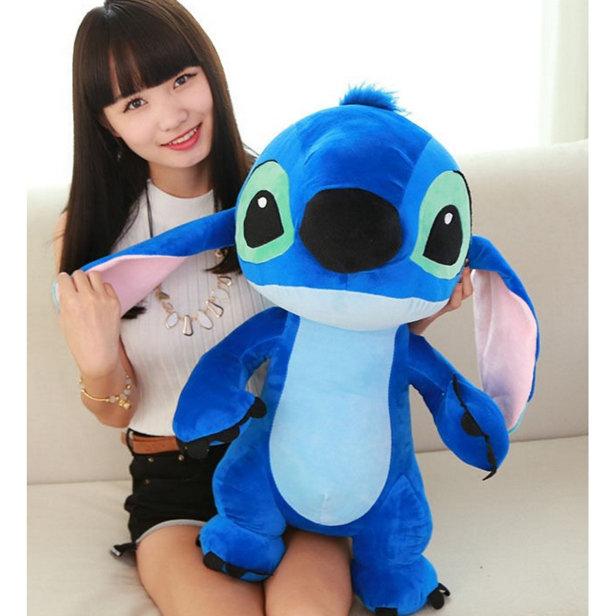 Flounder Stuffed Animal, 60cm Big Lilo Stitch Giant Large Stuffed Soft Plush Toy Doll Christmas Gift Shopee Malaysia