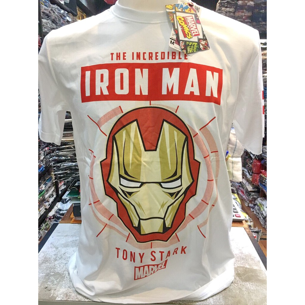 เสื้อยืดลิขสิทธิ์แท้ ไอรอนแมน Ironman (ir