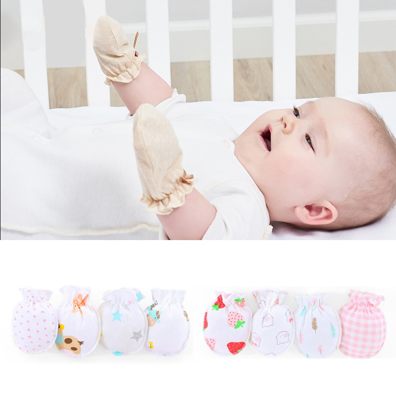 25 PAIRS MITTENS GLOVES 100/% COTTON NEWBORN BABIES Infant  Toddler 50 pcs