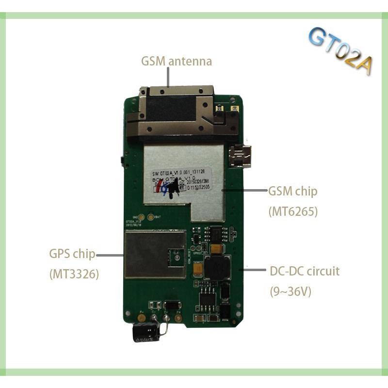Satellite GPS locator gt02a car tracker motorcycle car alarm free