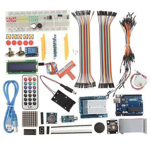 Ultimate Starter Kit for Arduino UNO R3 1602 LCD Servo Motor Breaddboard LED !