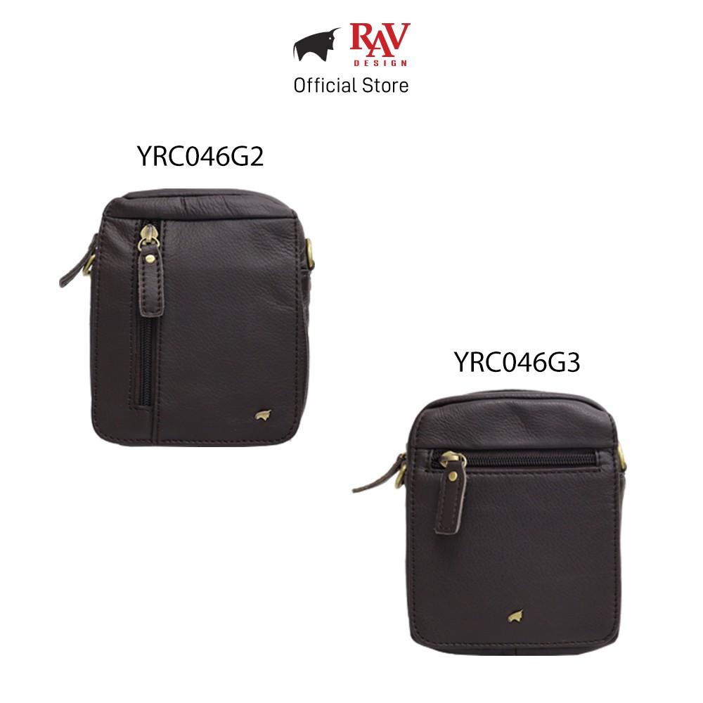 RAV DESIGN Genuine Leather Belt Pouch Sling Bag |YRC046 Series