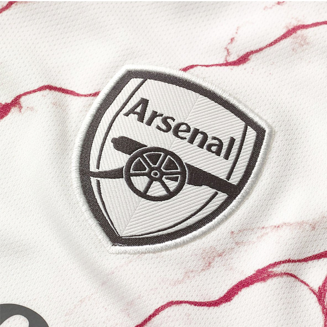 Arsenal Women Away Season 20/21 AEROREADY Fans Issue Jersey with EPL #19 PEPE + Patch Printing