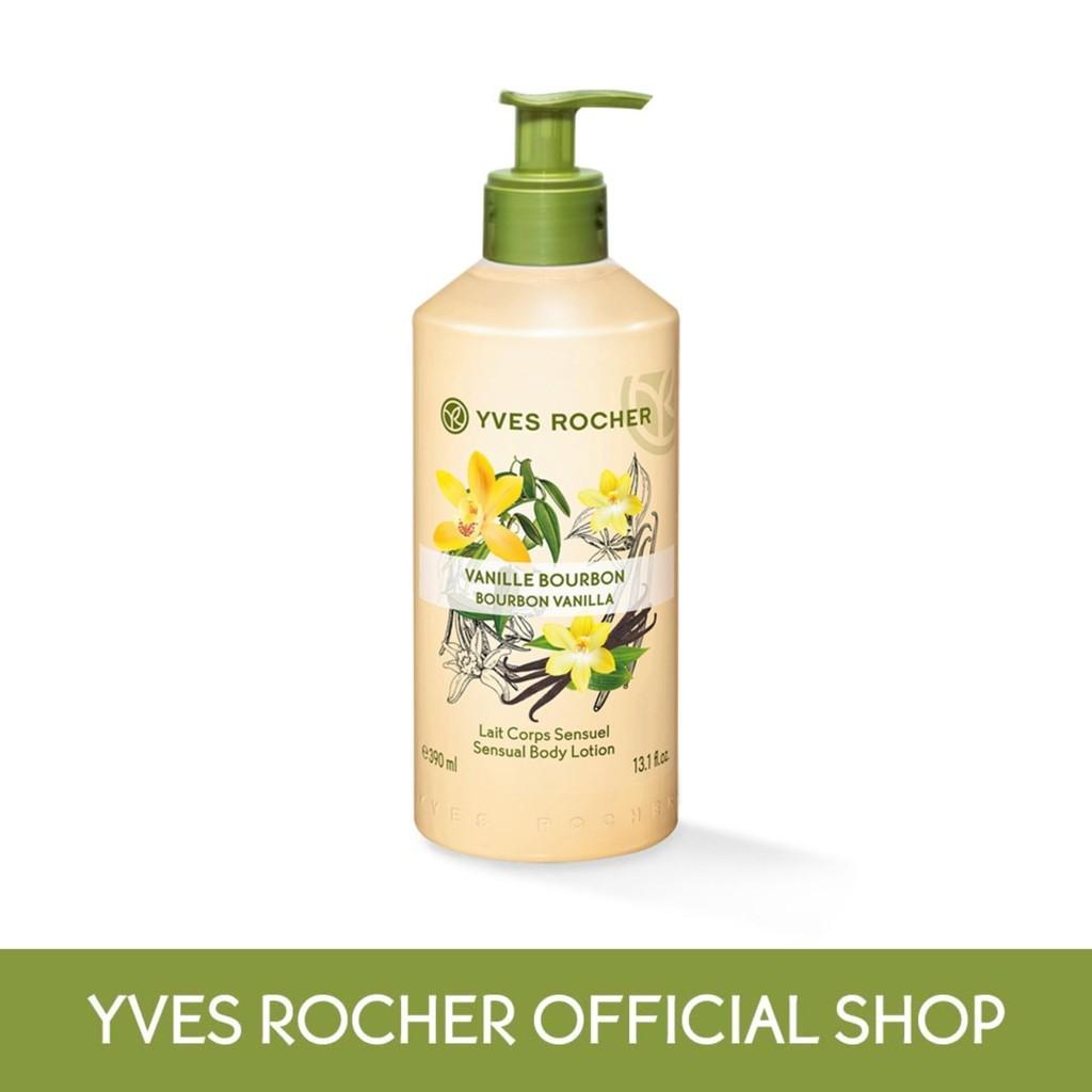 Yves Rocher Bourbon Vanilla Body Lotion (390ml)
