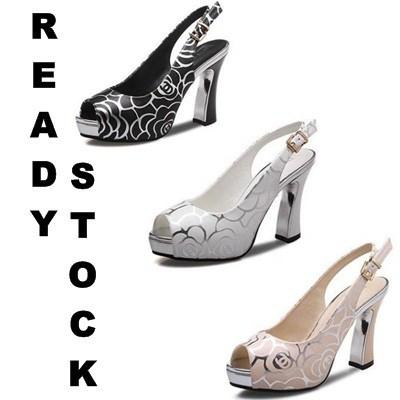 14CM heel shoes crystal heel nightclub sexy waterproof platform hollow  sandals  22660f1ba2ff