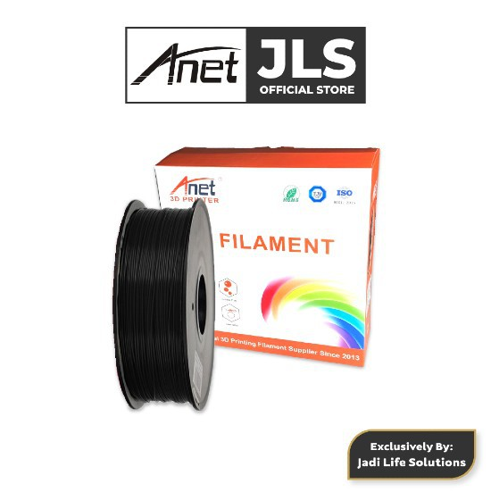 Anet ET4 All-Metal 3D Printer With Industrial Grade Chipset + 1x Black PLA - JADI LIFE