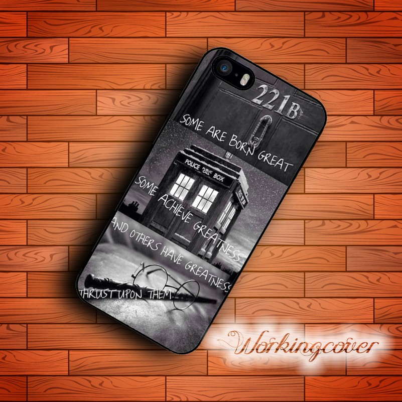 online retailer 87d71 0ee3b Sherlock Collage Case for iPhone X 8 7 6S Plus 5S SE 5C 4S for iPod 6 5 Case